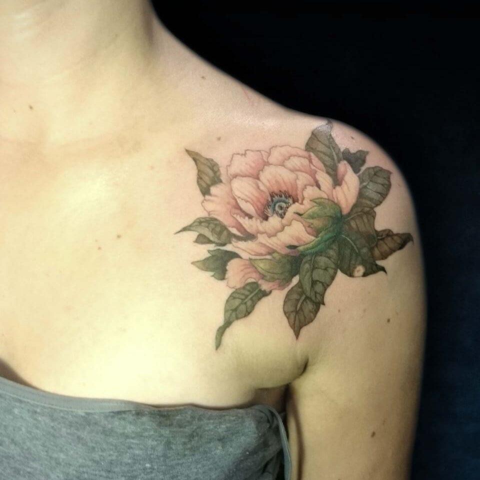 tatouage-fleur-ariane
