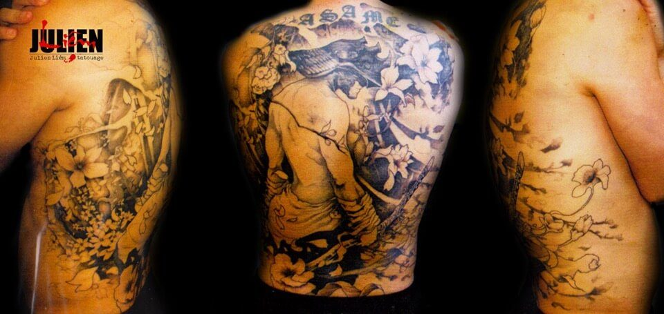 tatouage-samourai-dos-asame